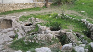 Ruins of Caiaphas' House, Jerusalem, Israel, 2010
