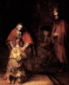 """The Return of the Prodigal Son"", Rembrandt, c."