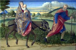 """The Flight Into Egypt"", Vittore Carpaccio, c. 1500"