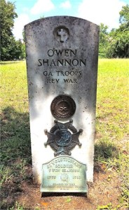 Burial site of Owen Shannon (1762-1839), Old Methodist Cemetery, Montgomery, TX (my great-great-great-great grandfather)