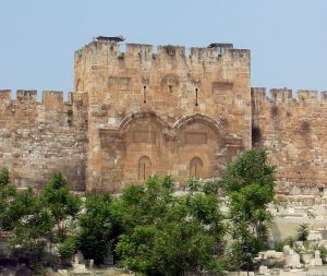 The Eastern Gate (or Golden Gate), Jerusalem (sealed in 1541)