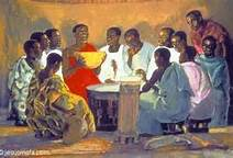 """The Last Supper"", Jesus Mafa"
