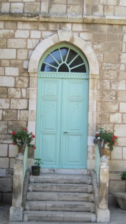 Door near Bethany, Jerusalem