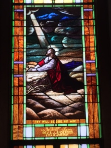 Gethsemane Window, First United Methodist Church, Cleveland, TX
