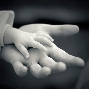 God holding hand